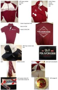 QPA Merchandise List