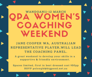 WOMEN'S COACHING WEEEKND